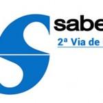 2 via Conta Sabesp