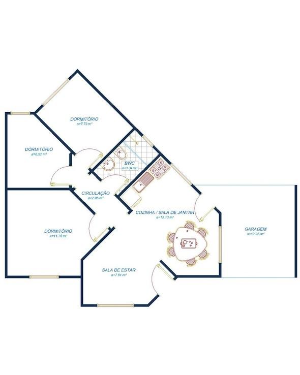 Planta-de-casas-pequenas-e-simples-modelos-projetos-gratis