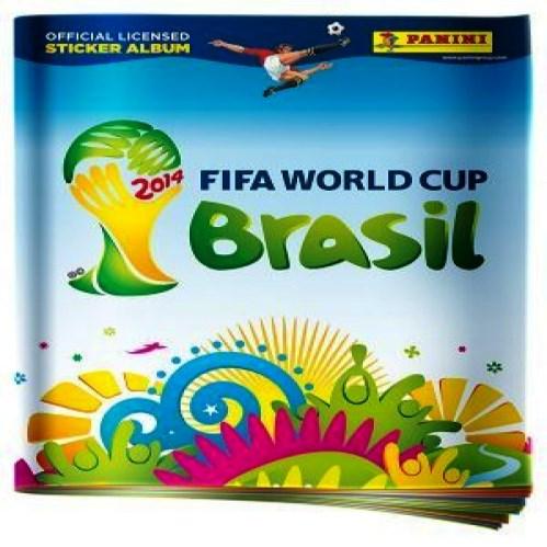 Álbum de figurinhas da Copa 2014