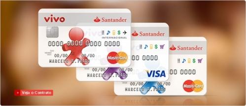 Cartões Vivo Santander