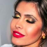 Maquiagem Dourada: como fazer, modelos