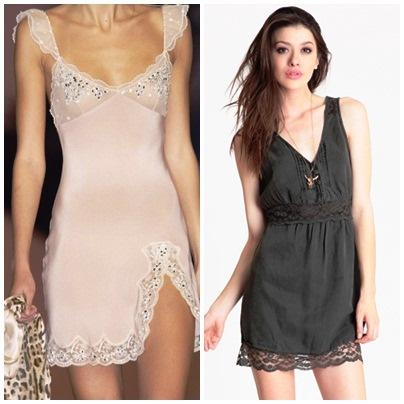 Tendência Slip Dress