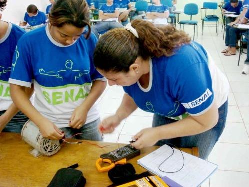 Cursos da Faculdade de tecnologia SENAI-Cuiabá