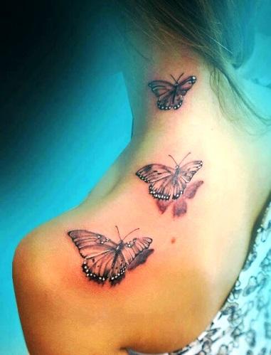 Tatuagens de borboletas – Fotos e Modelos