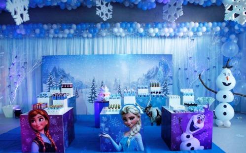 Festa Infantil Tema Frozen