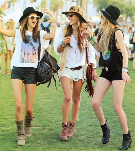 Looks de Festival de Música