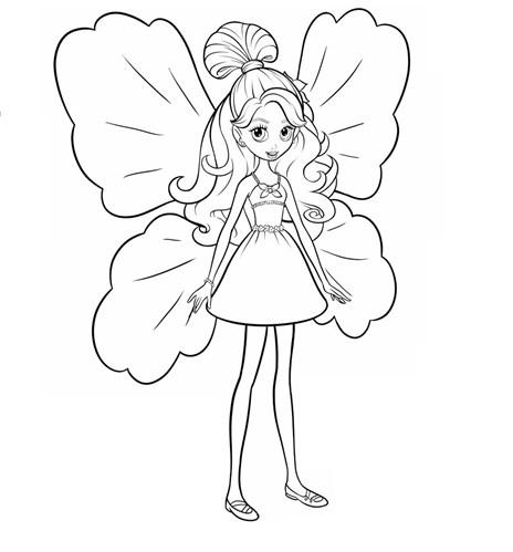 Desenhos da Polly para colorir
