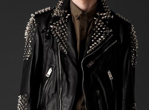 jaqueta de couro customizada