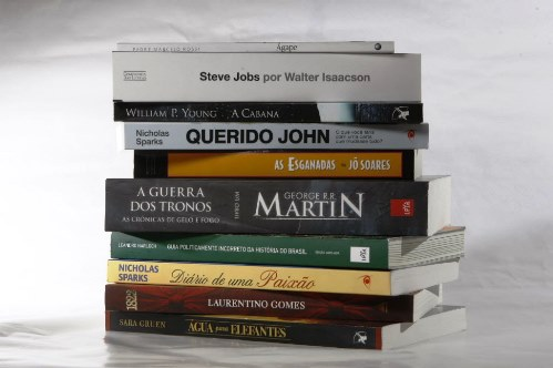 Livros mais Vendidos no Brasil