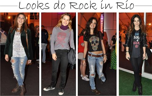 Look para ir ao Rock in Rio