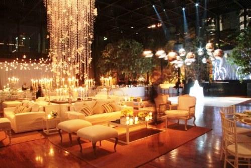Lounges em casamento
