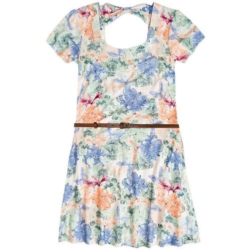 Vestidos Floridos Moda Verão