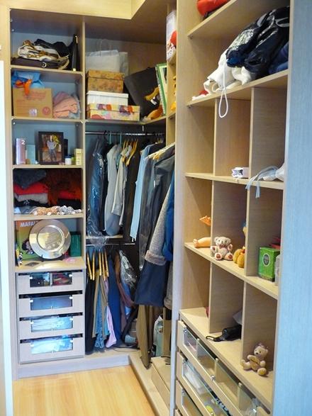 Modelos de closets pequenos e simples for Closets para apartamentos pequenos