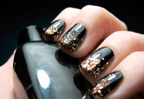 Unhas com Glitter – Modelos