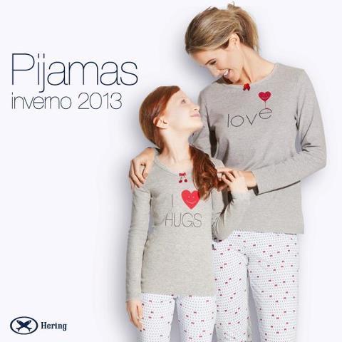 pijamas femininos Hering