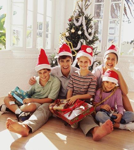 Presentes de Natal para Familia