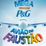 Promoção Avião do Faustão 2014 P&G