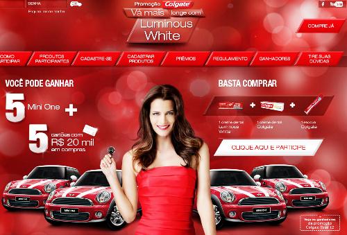 Promoção Colgate Luminous White 2013