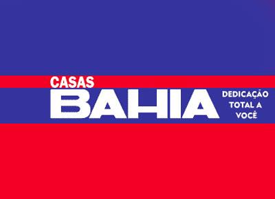Site da Casas Bahia