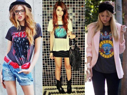 T-shirts Femininas Estampadas