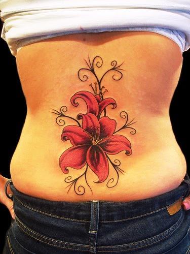 Tatuagens de Flores de Hibiscos