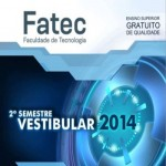 Vestibular Fatec 2º semestre 2014: inscrições