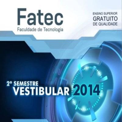 Vestibular Fatec 2º semestre 2014