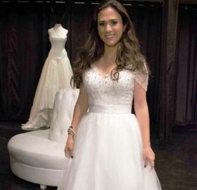 Vestido de Noiva de Valdirene em Amor a Vida